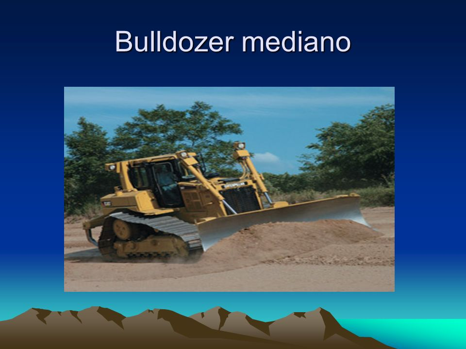 Bulldozer mediano