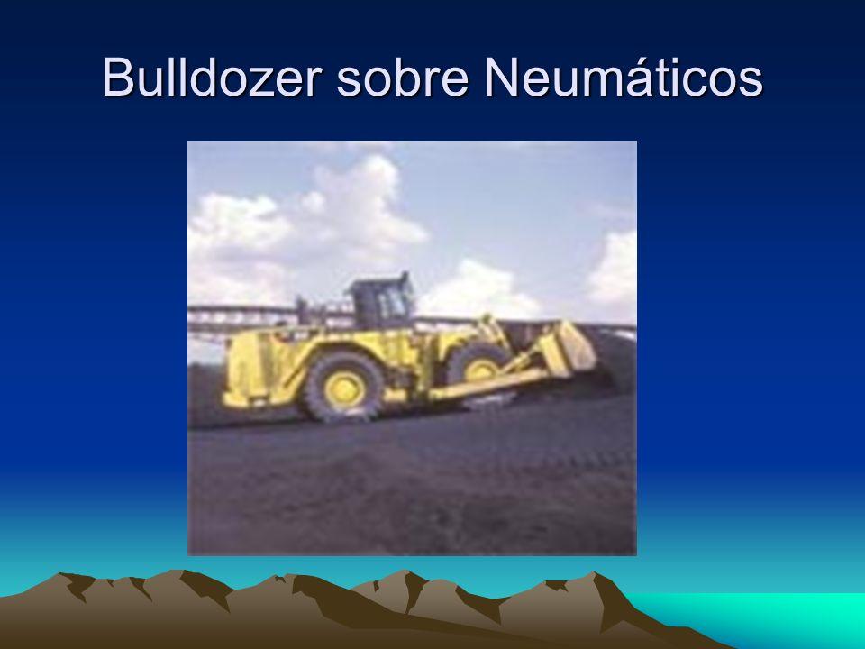 Bulldozer sobre Neumáticos