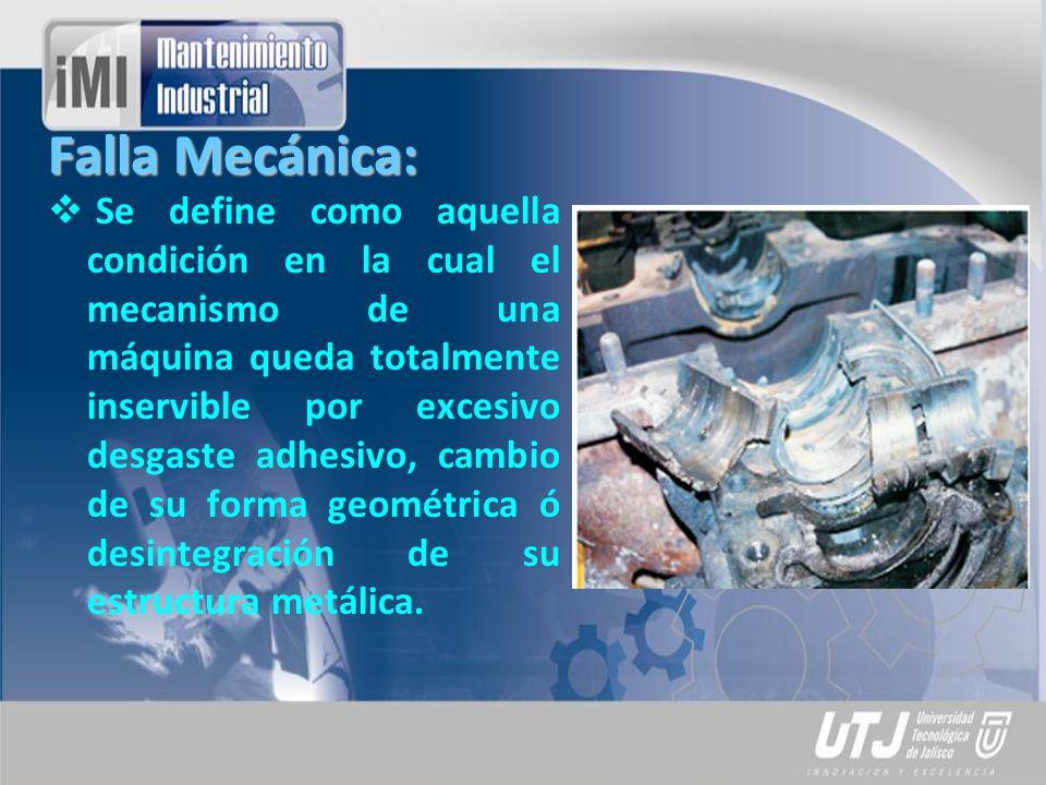 Falla Mecánica: