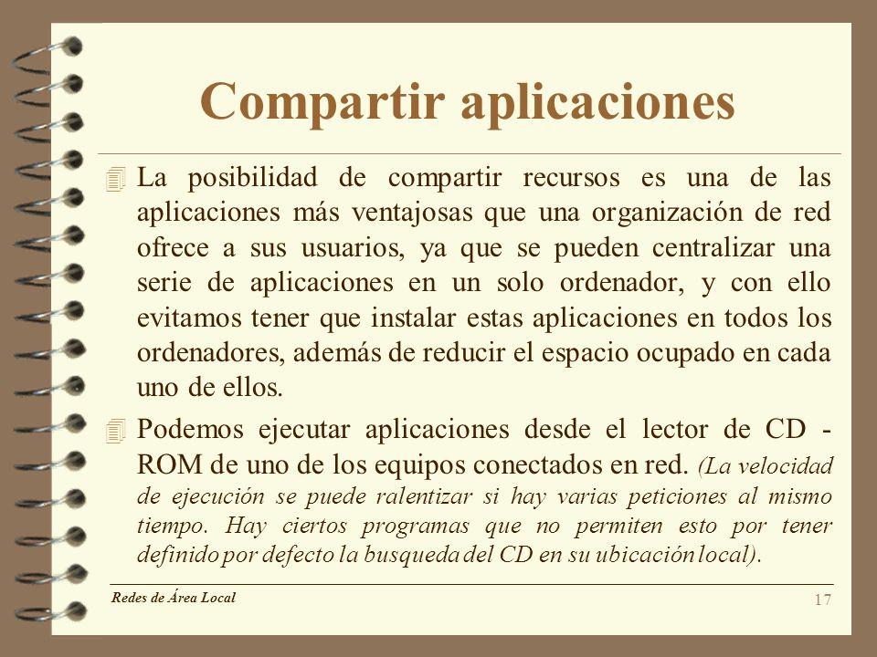 Compartir aplicaciones