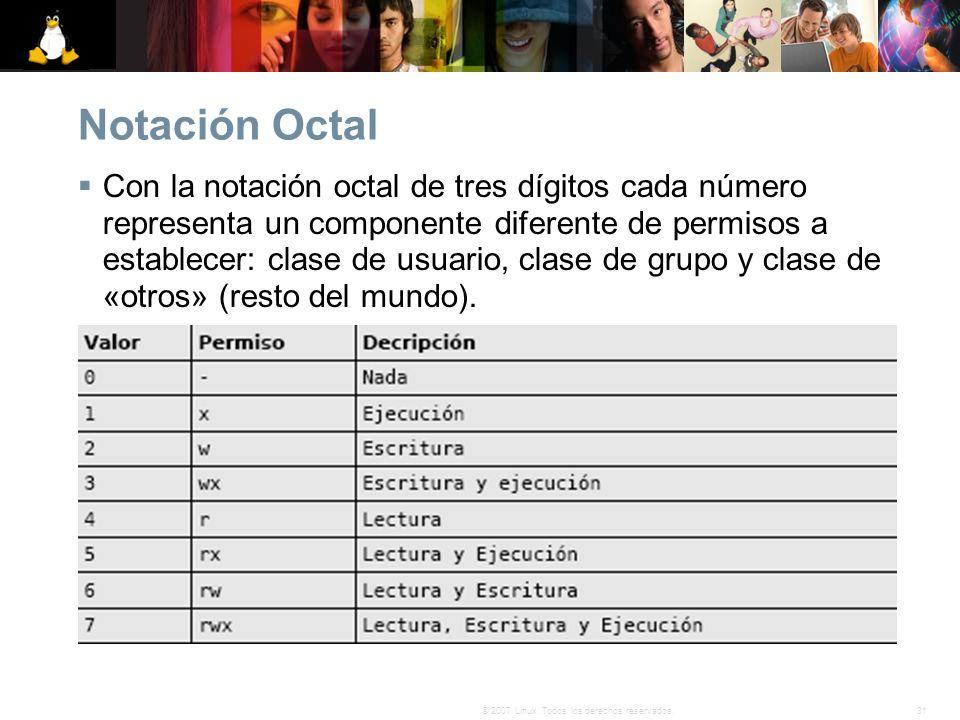 Notación Octal