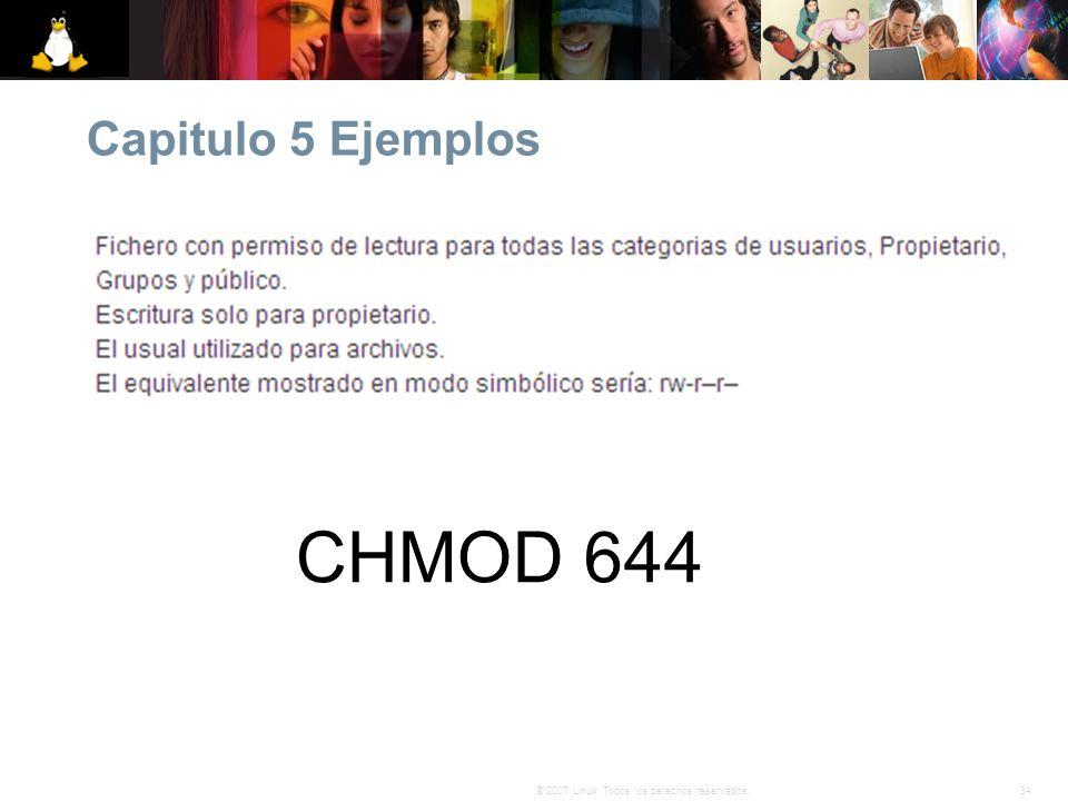 Capitulo 5 Ejemplos CHMOD 644