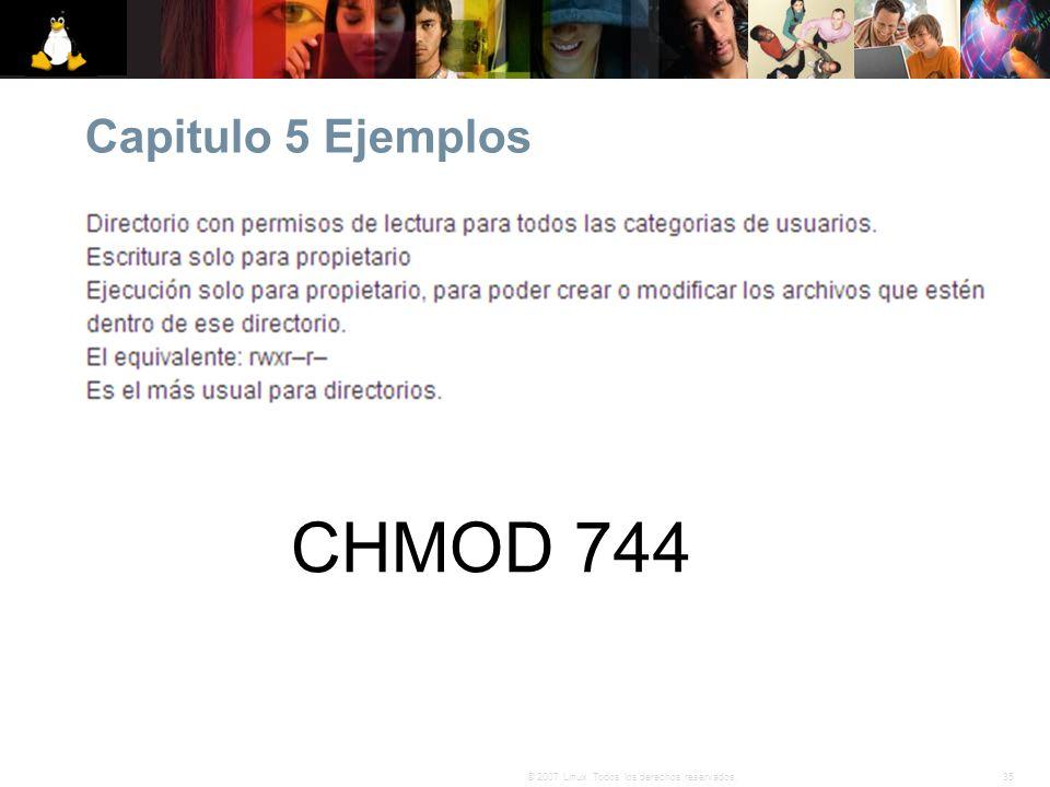 Capitulo 5 Ejemplos CHMOD 744