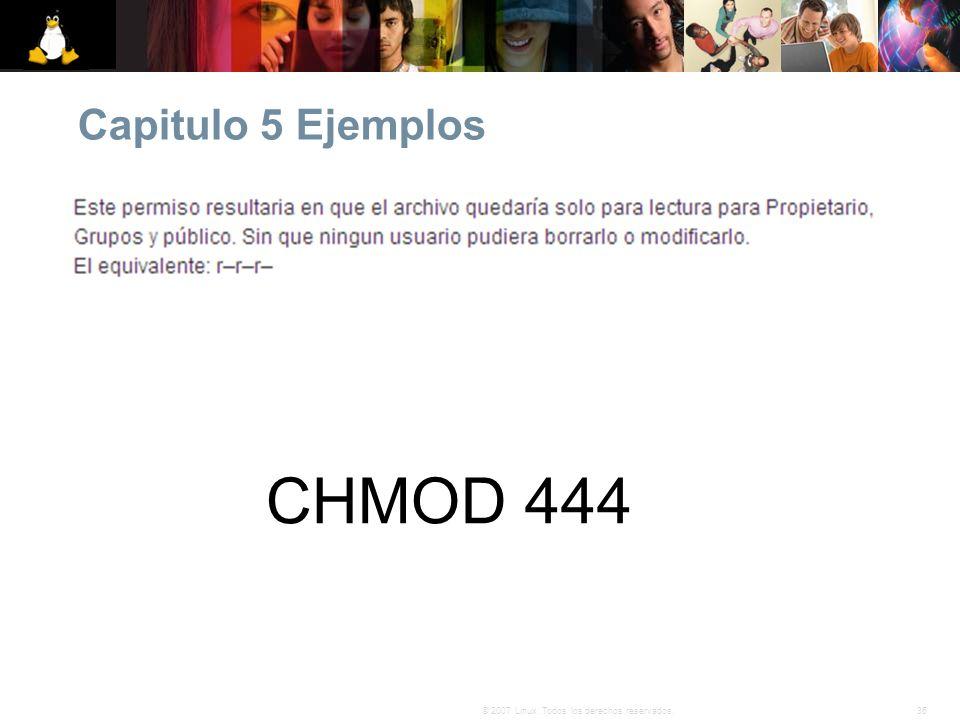 Capitulo 5 Ejemplos CHMOD 444