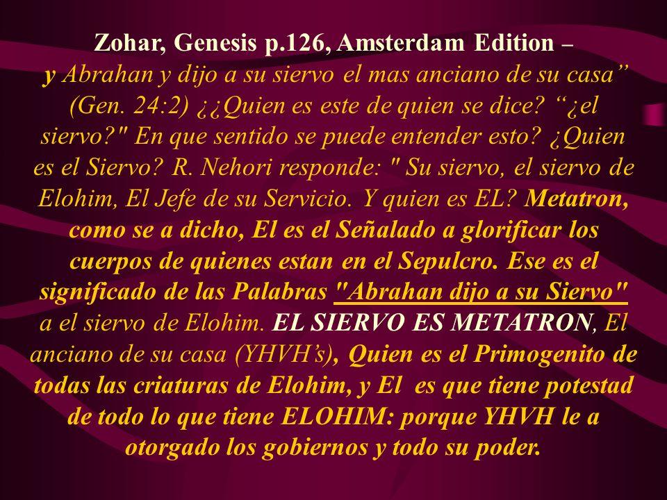 Zohar, Genesis p.126, Amsterdam Edition –