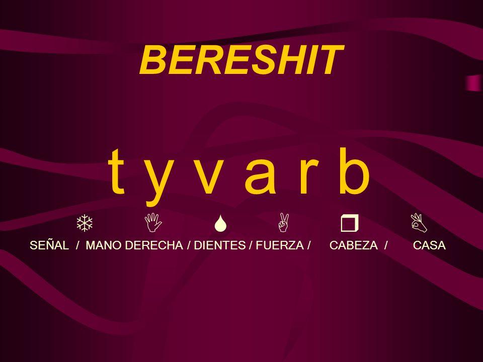 t y v a r b BERESHIT T I S A r B