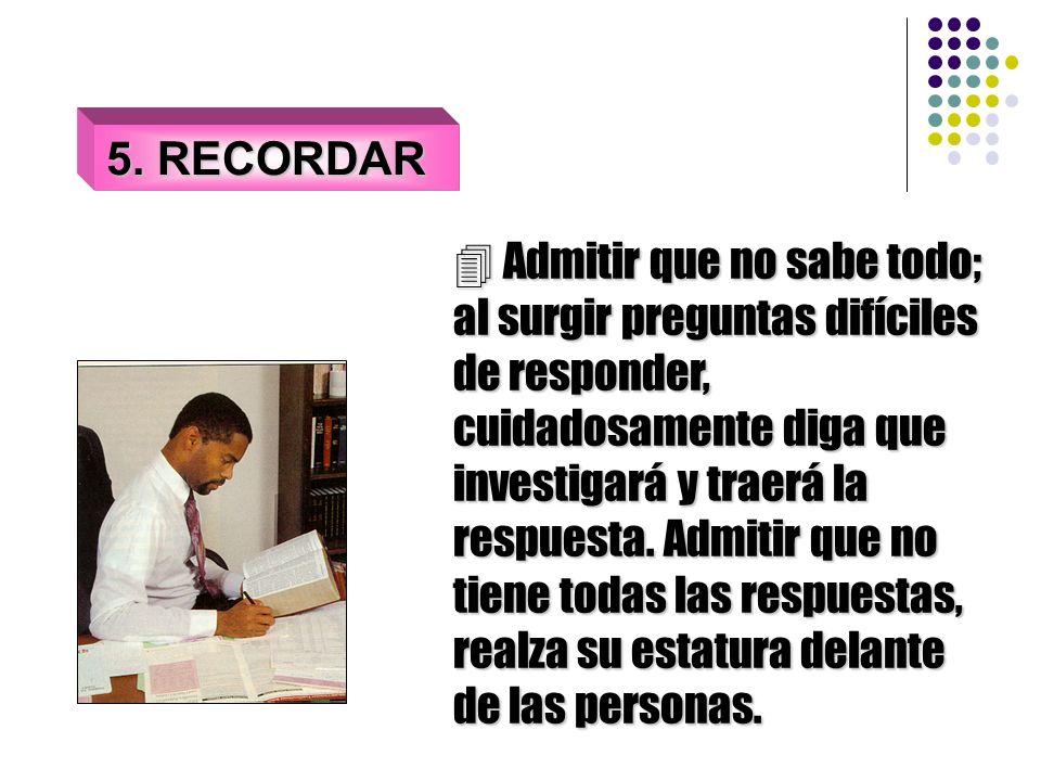 5. RECORDAR