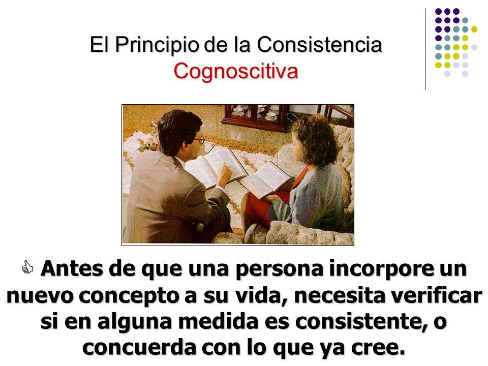 El Principio de la Consistencia Cognoscitiva