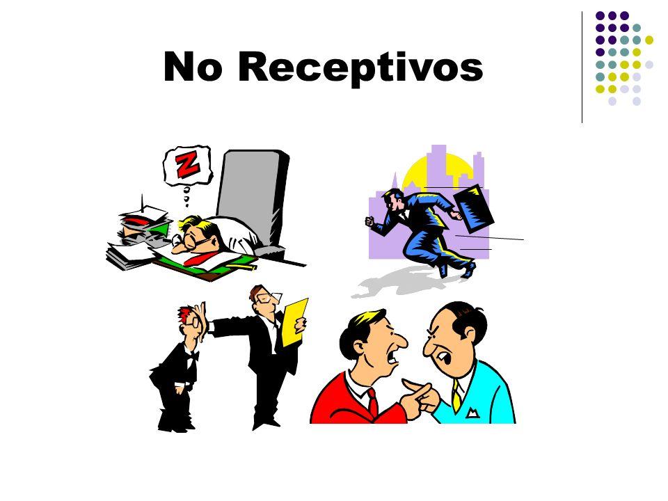 No Receptivos