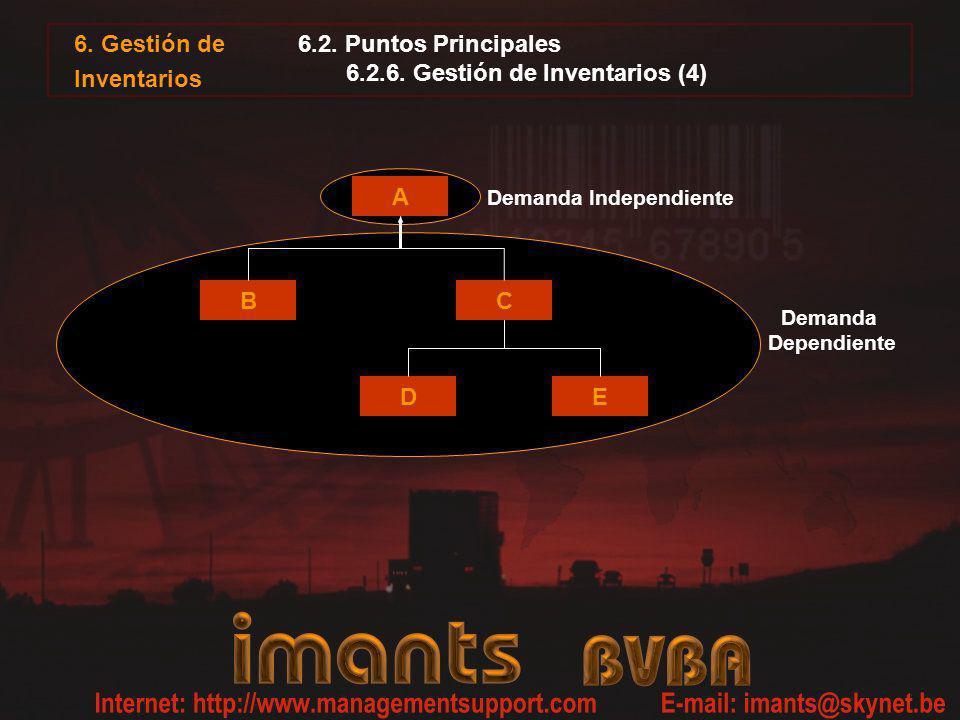 6.2. Puntos Principales 6.2.6. Gestión de Inventarios (4)