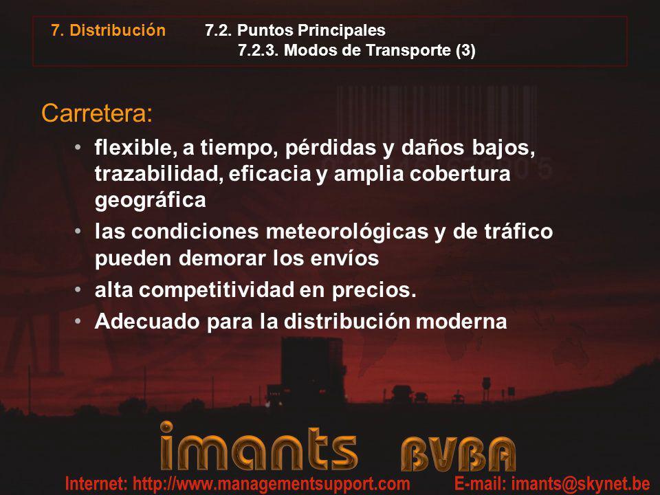 7.2. Puntos Principales 7.2.3. Modos de Transporte (3)