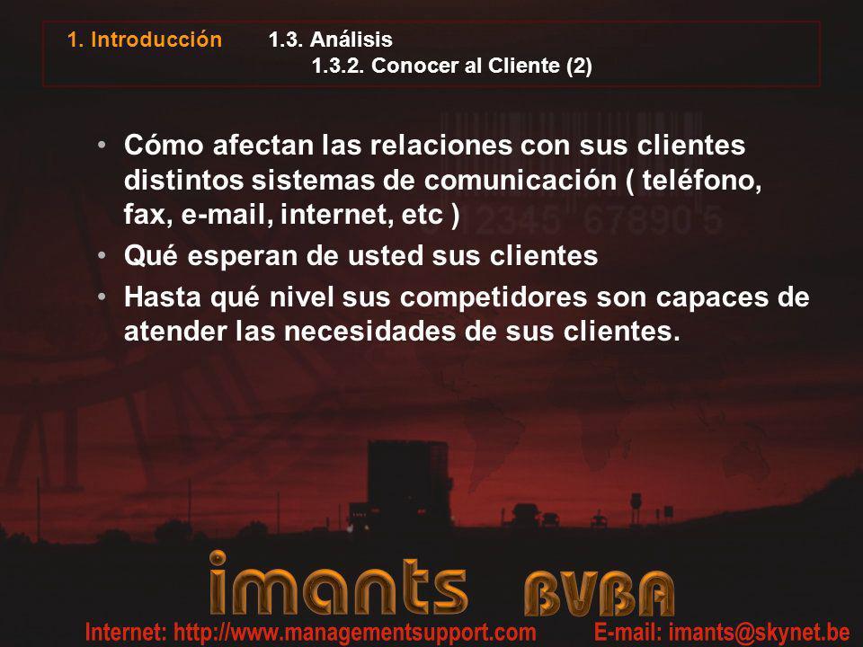 1.3. Análisis 1.3.2. Conocer al Cliente (2)