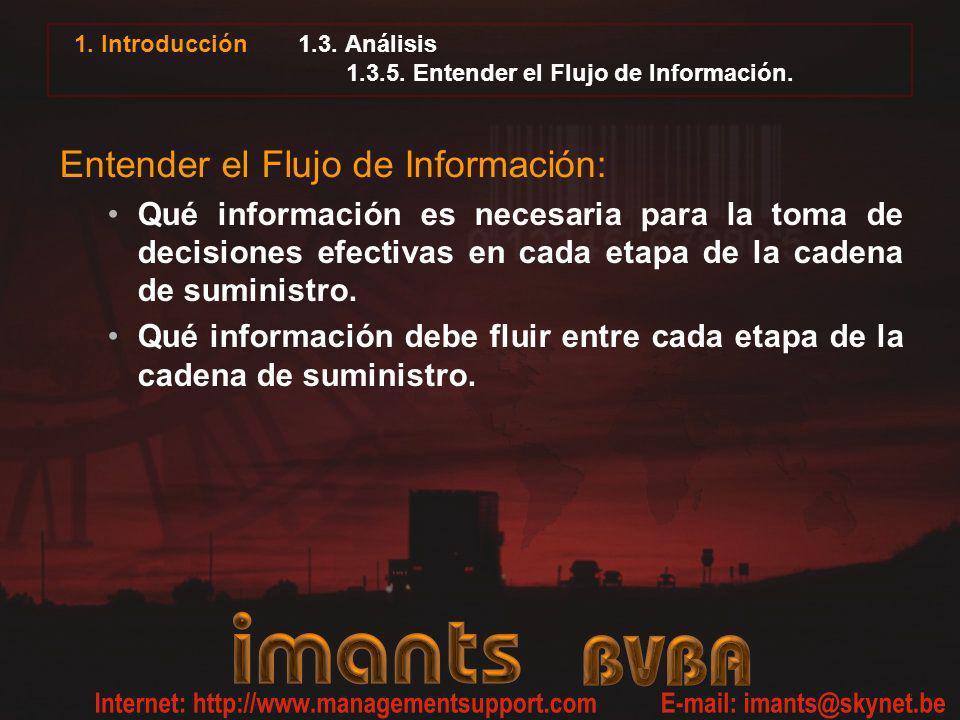 1.3. Análisis 1.3.5. Entender el Flujo de Información.