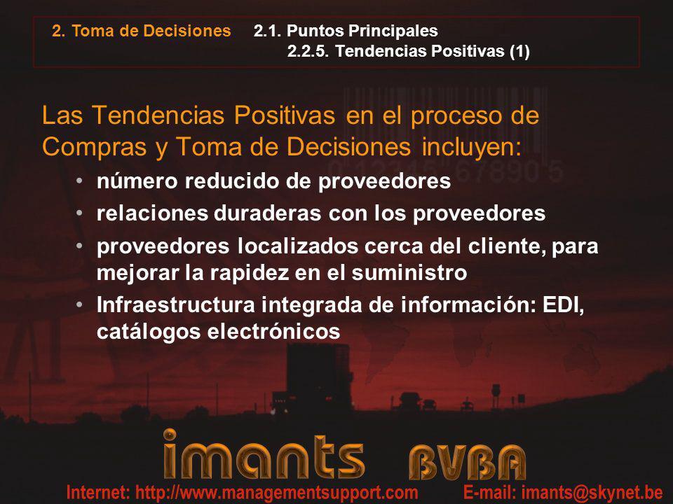 2.1. Puntos Principales 2.2.5. Tendencias Positivas (1)