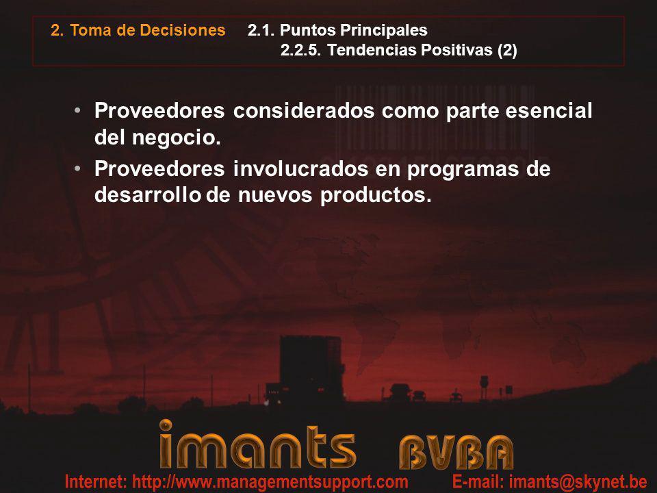 2.1. Puntos Principales 2.2.5. Tendencias Positivas (2)