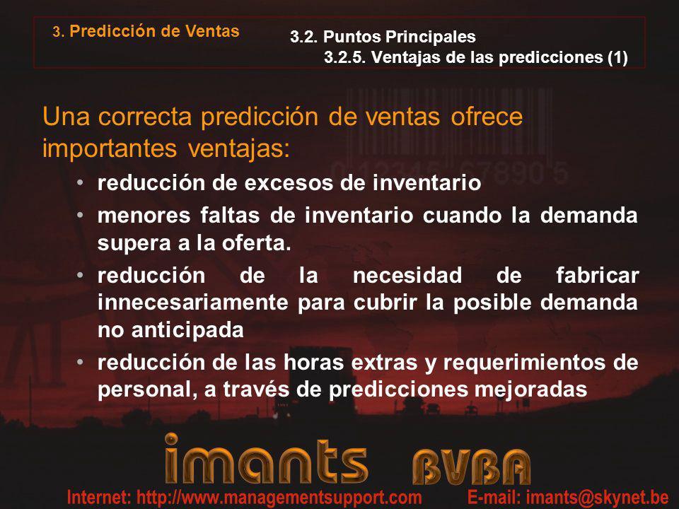 3.2. Puntos Principales 3.2.5. Ventajas de las predicciones (1)