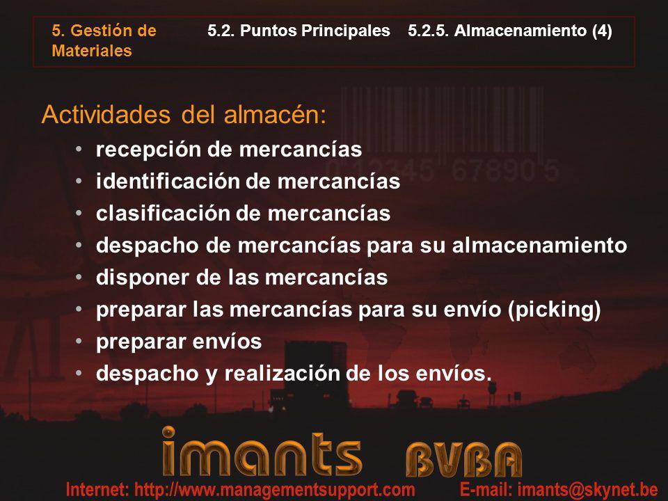 5.2. Puntos Principales 5.2.5. Almacenamiento (4)