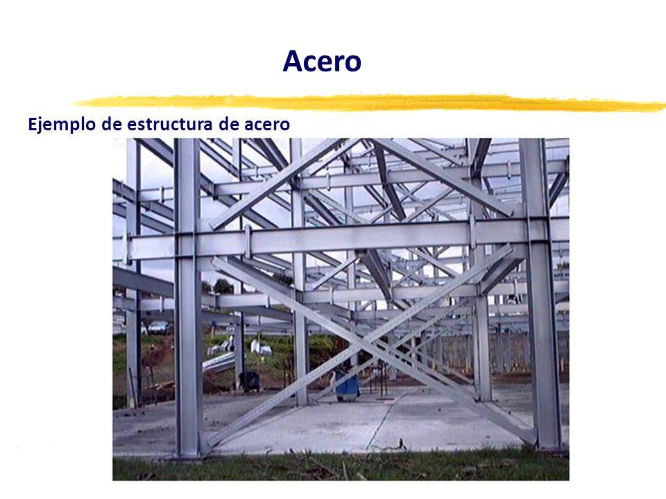 Acero Ejemplo de estructura de acero