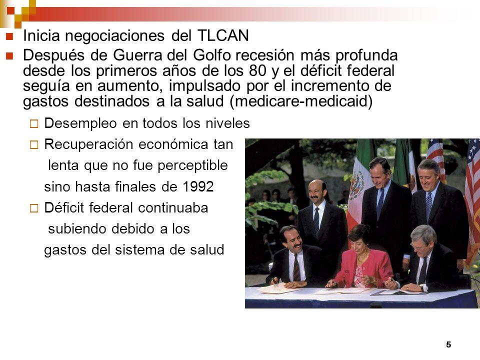 Inicia negociaciones del TLCAN