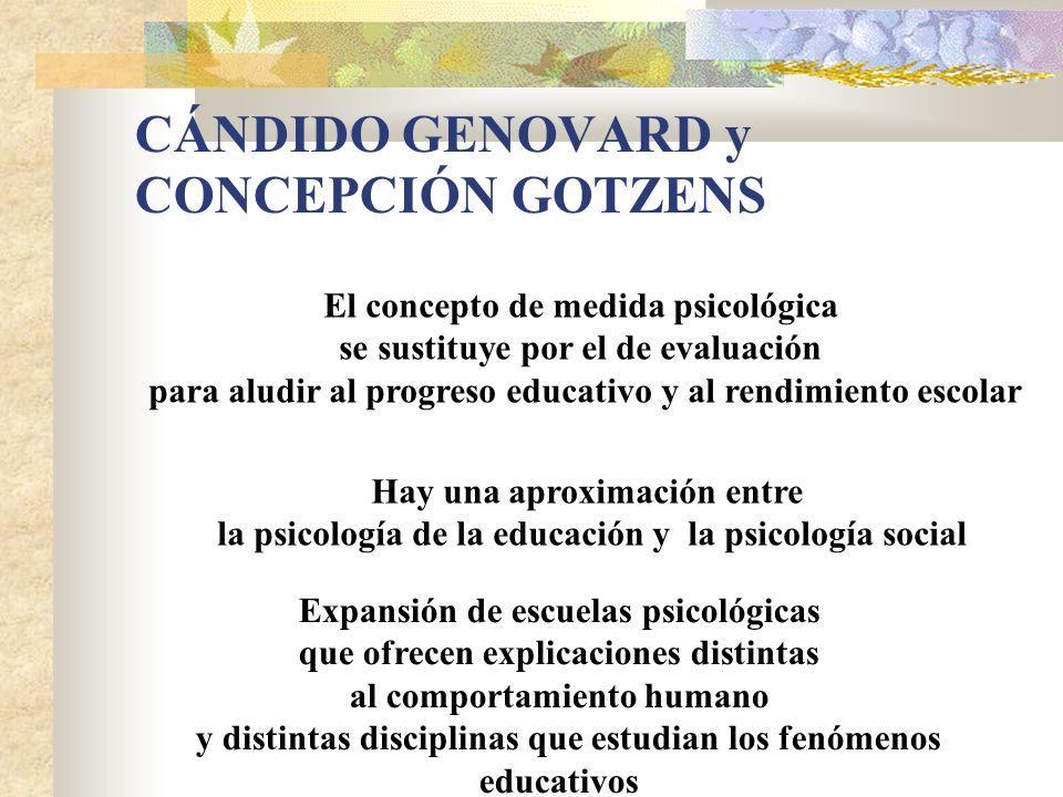 CÁNDIDO GENOVARD y CONCEPCIÓN GOTZENS