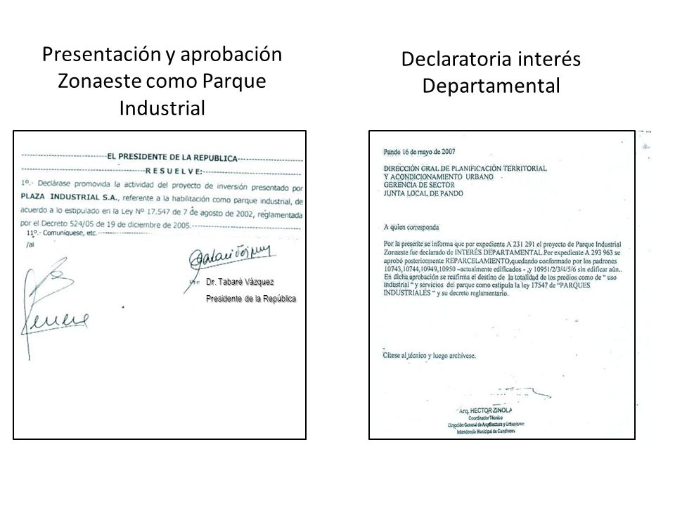 Declaratoria interés Departamental