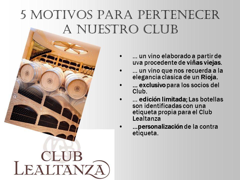 5 motivos para pertenecer a nuestro CLUB