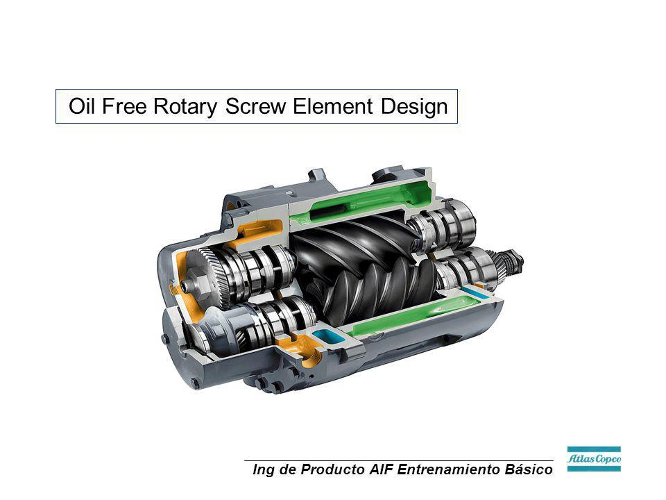 Oil Free Rotary Screw Element Design