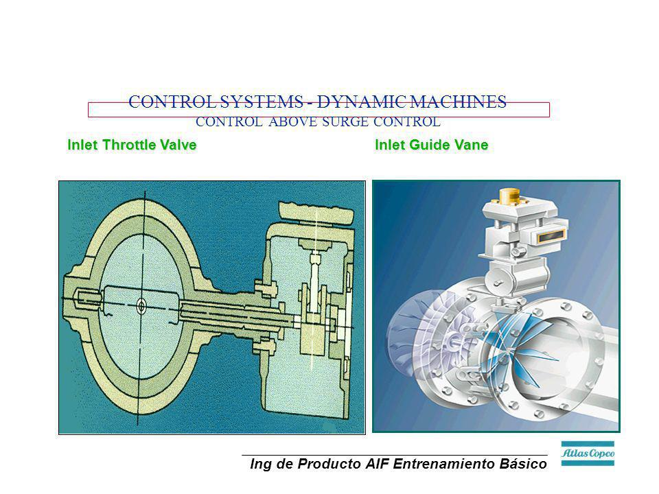 CONTROL SYSTEMS - DYNAMIC MACHINES CONTROL ABOVE SURGE CONTROL
