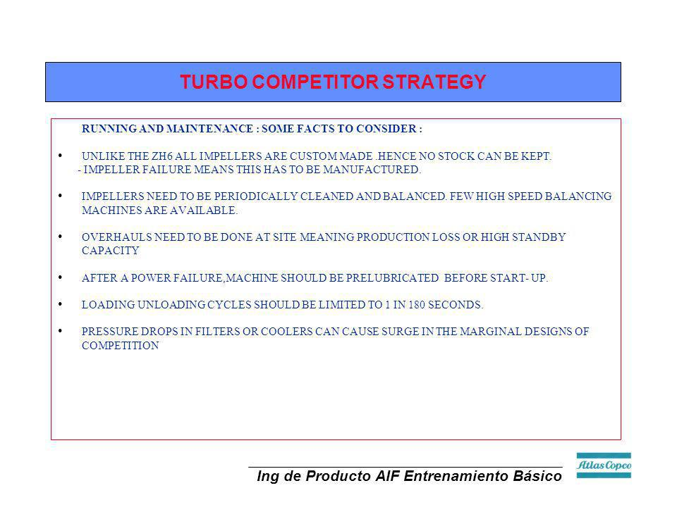 TURBO COMPETITOR STRATEGY