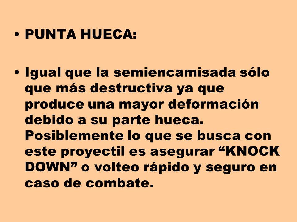 PUNTA HUECA: