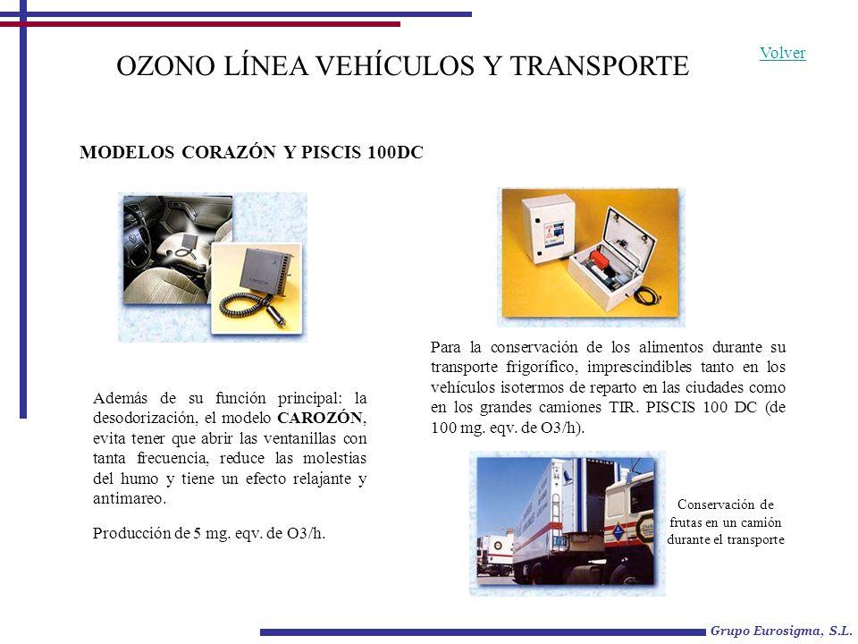 OZONO LÍNEA VEHÍCULOS Y TRANSPORTE