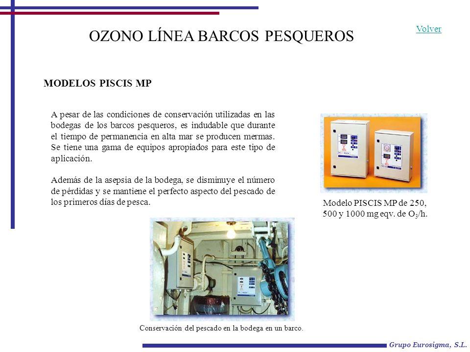 OZONO LÍNEA BARCOS PESQUEROS
