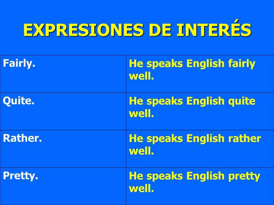 EXPRESIONES DE INTERÉS