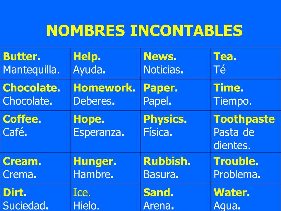 RESUMEN GRAMATICAL DE LA LENGUA INGLESA Y ESPAÑOLA