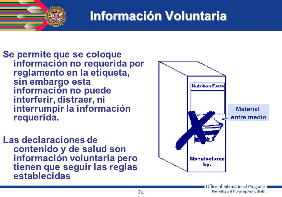 Información Voluntaria