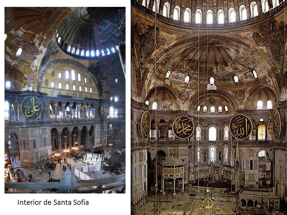 Interior de Santa Sofía