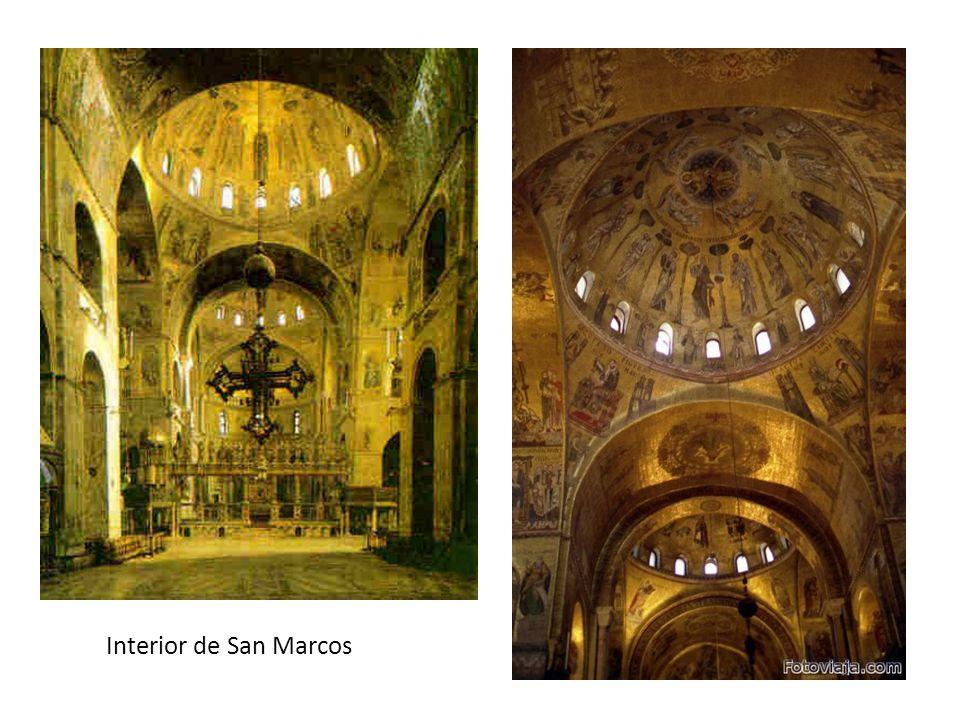 Interior de San Marcos
