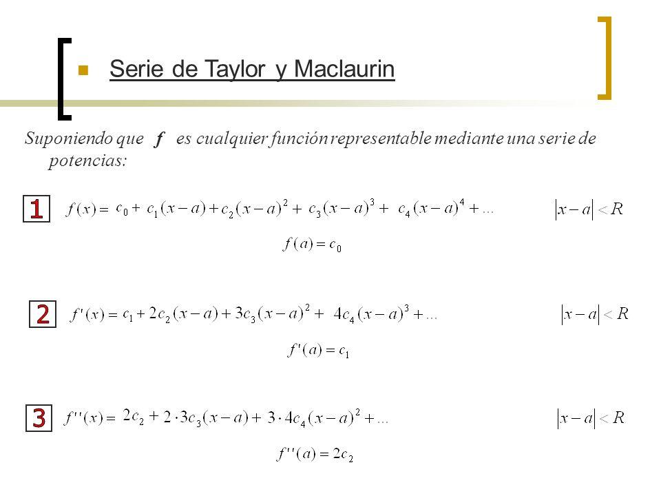 1 2 3 Serie de Taylor y Maclaurin