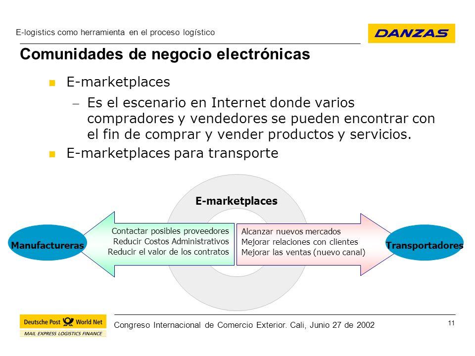 Comunidades de negocio electrónicas