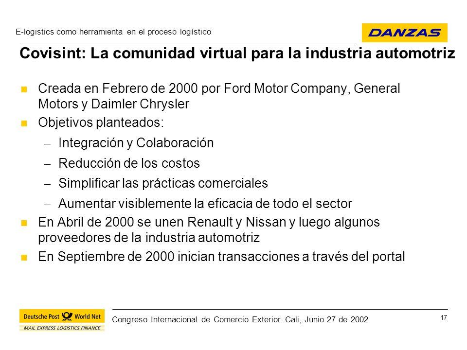 Covisint: La comunidad virtual para la industria automotriz
