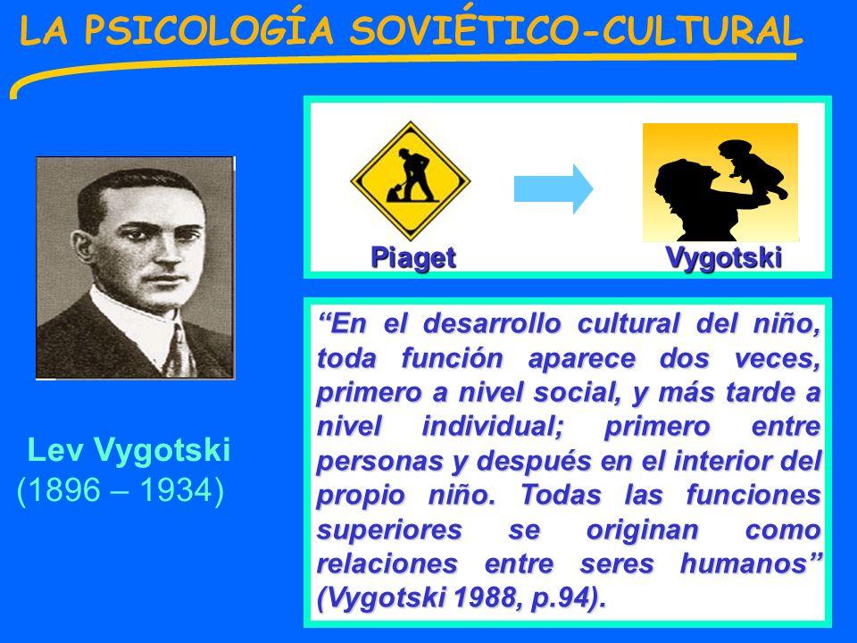 LA PSICOLOGÍA SOVIÉTICO-CULTURAL