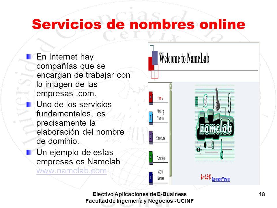 Servicios de nombres online