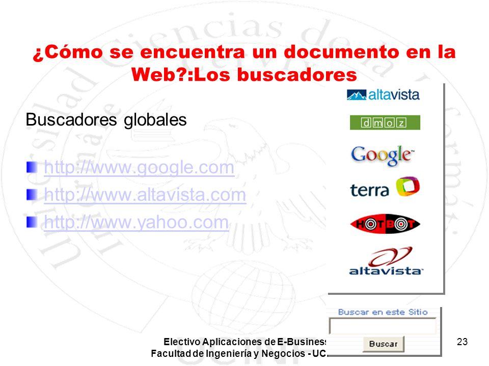 ¿Cómo se encuentra un documento en la Web :Los buscadores