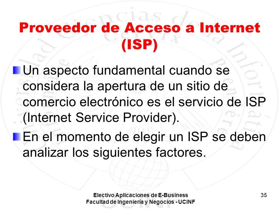 Proveedor de Acceso a Internet (ISP)