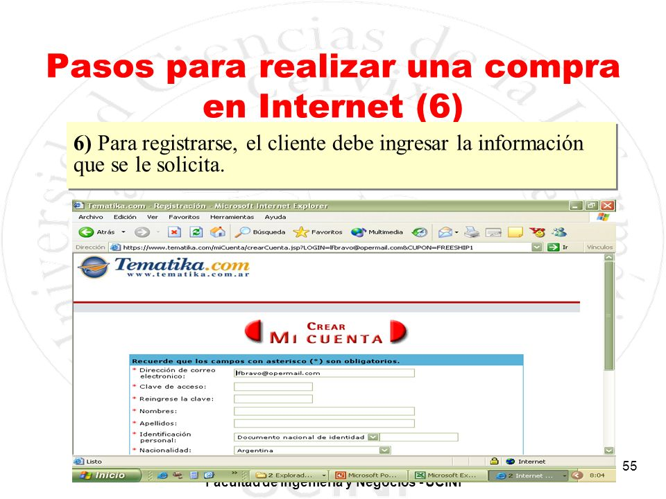 Pasos para realizar una compra en Internet (6)