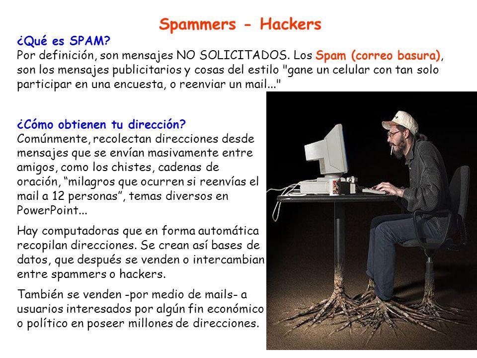 Spammers - Hackers ¿Qué es SPAM