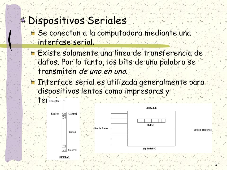 Dispositivos Seriales