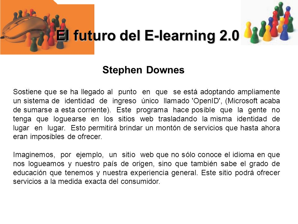 El futuro del E-learning 2.0