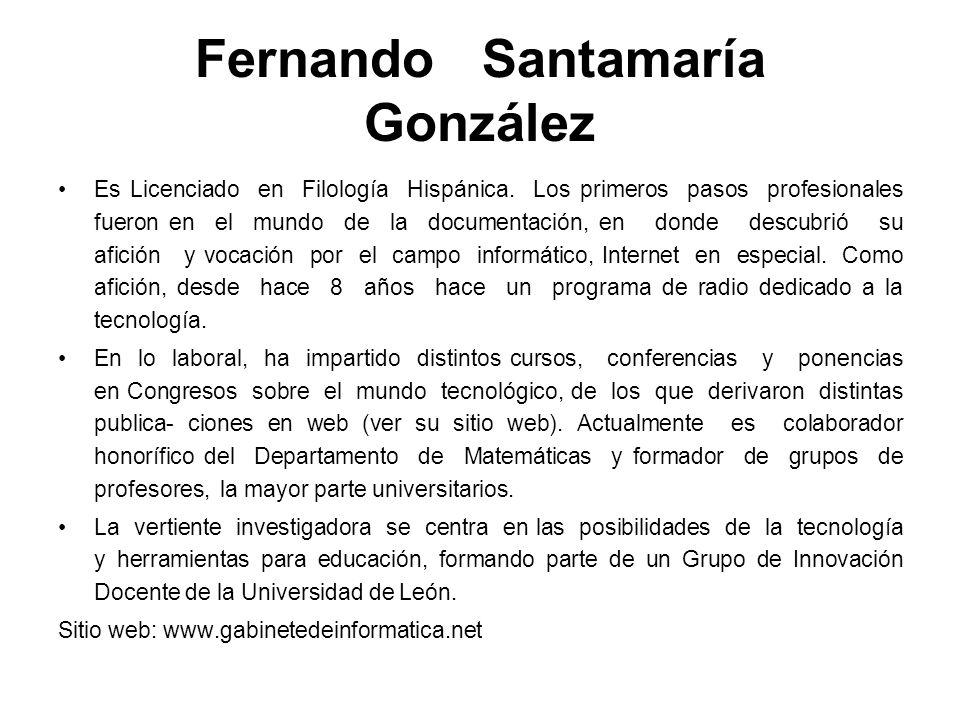 Fernando Santamaría González