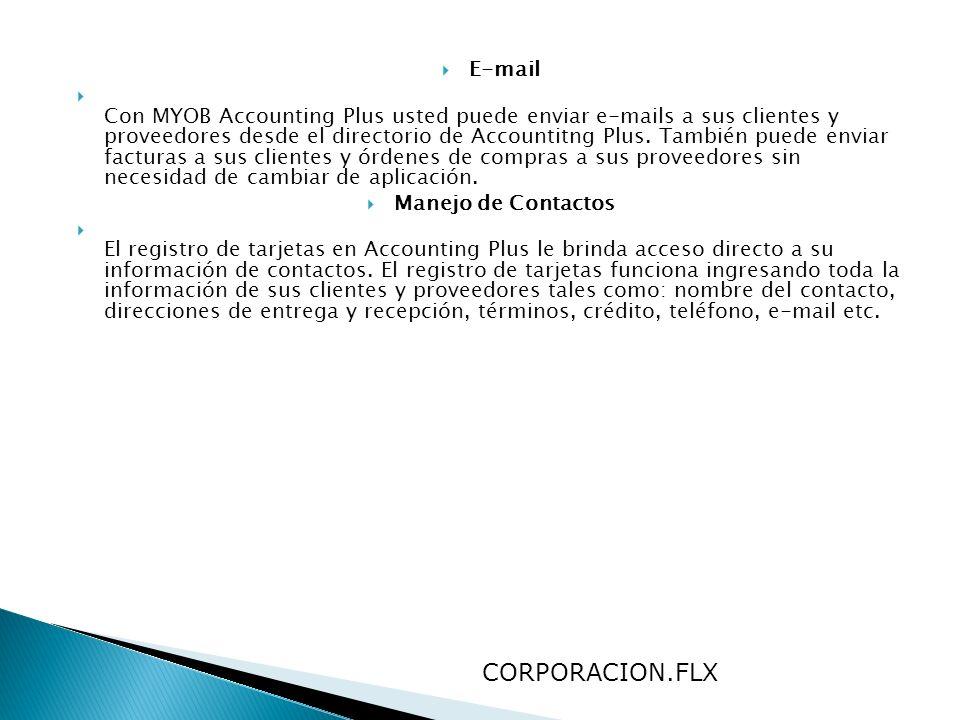 CORPORACION.FLX E-mail
